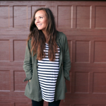 Dressing the Bump: Cozy Fall Look