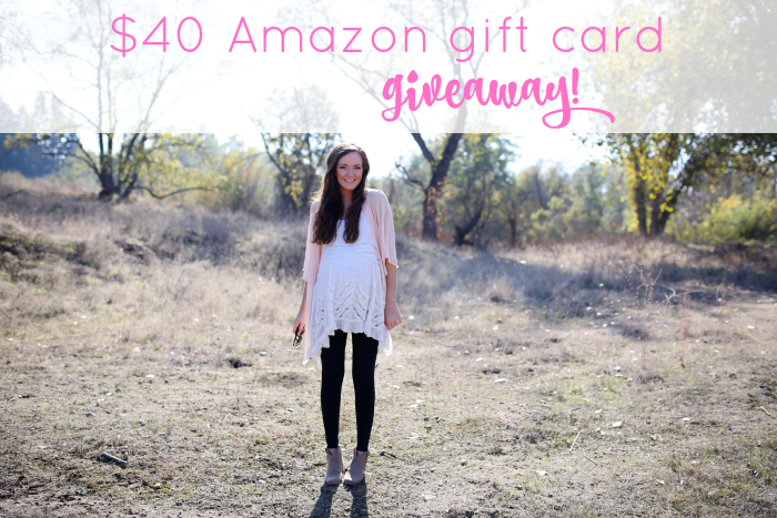 40 amazon giveaway