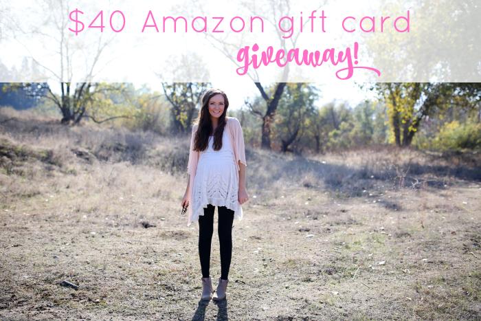 40 amazon giveaway