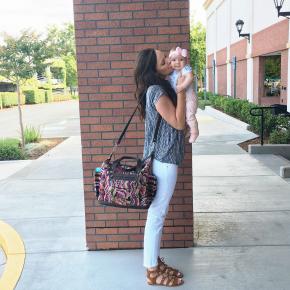 Top | Jeans | Sandals | Bag | Original Post