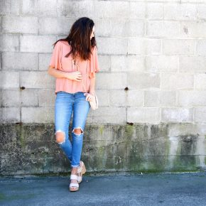 top | jeans | shoes