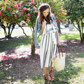 Dress | Similar Jacket | Sandals | Original Post