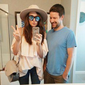 Top | Sunglasses | Hat | Jeans | Original Post