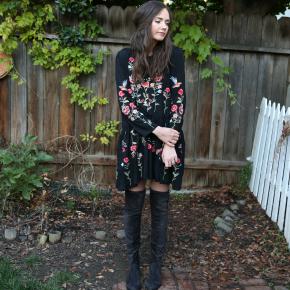 Dress | Boots | Original Post