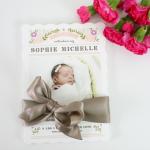 SOPHIE'S BIRTH ANNOUNCEMENTS