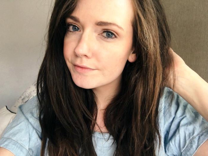 skincare selfie
