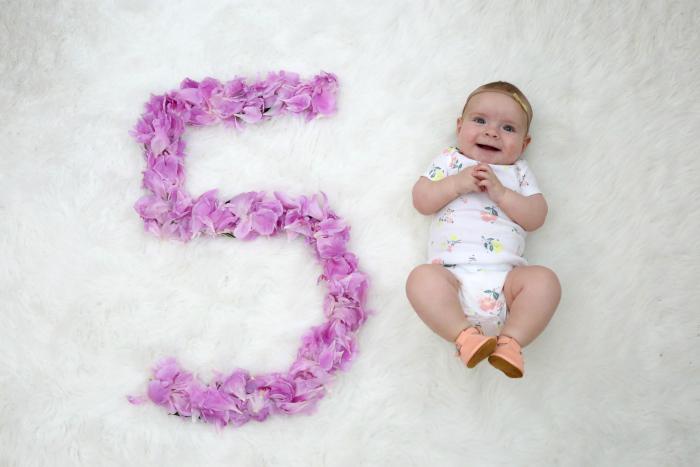 sophie 5 months