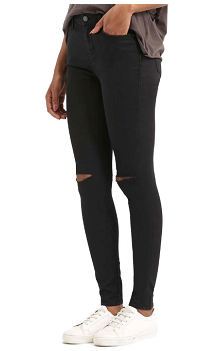 Top Sop Ripped Jeans