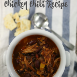 HEARTY CHICKEN CHILI RECIPE