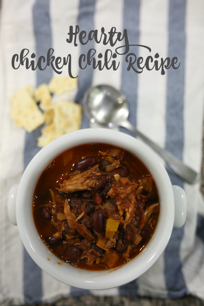 HEARTY CHICKEN CHILI RECIPE - Katie Did What
