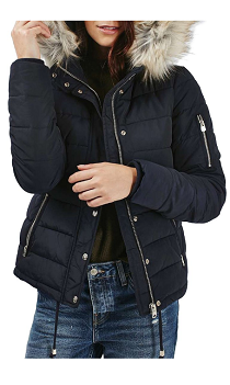 TopShop Hooded Puffer