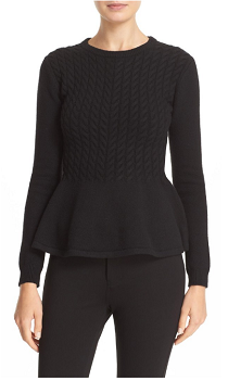 Ted Baker Peplum Sweater