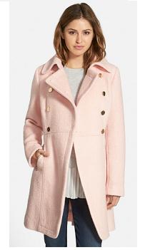 Pink Pea Coat