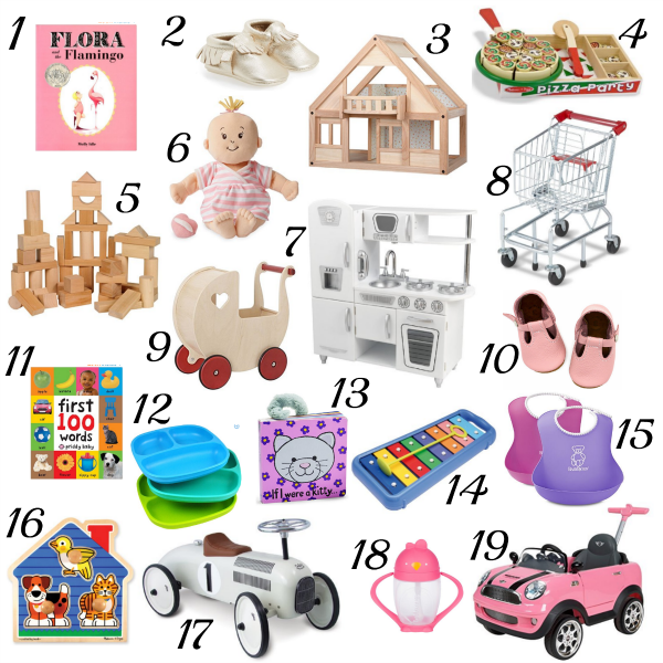 FIRST BIRTHDAY GIFT IDEAS - Katie Did What
