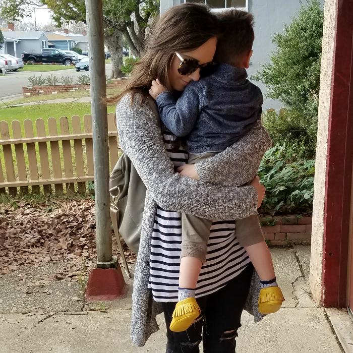 school hug