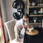 OUR WILD THING TURNED THREE!