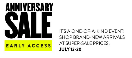 f584874293eed I am SO excited, today is the first day of Early Access for the Nordstrom  Anniversary Sale, aka the BEST sale of the year! Wooo!