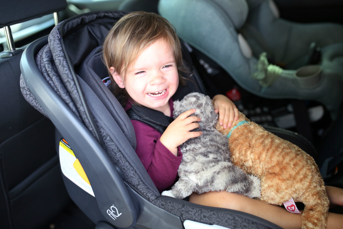 TURN AFTER TWO CAR SEAT GIVEAWAY