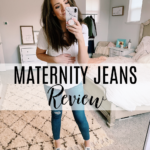 THE ULTIMATE MATERNITY JEANS REVIEW