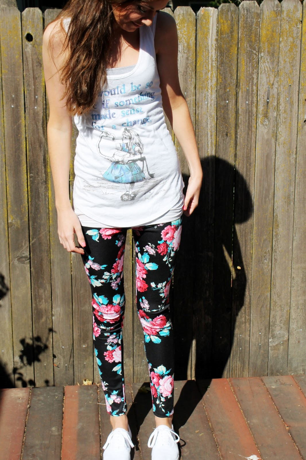 95a94b2d5fe Floral Leggings - Katie Did What