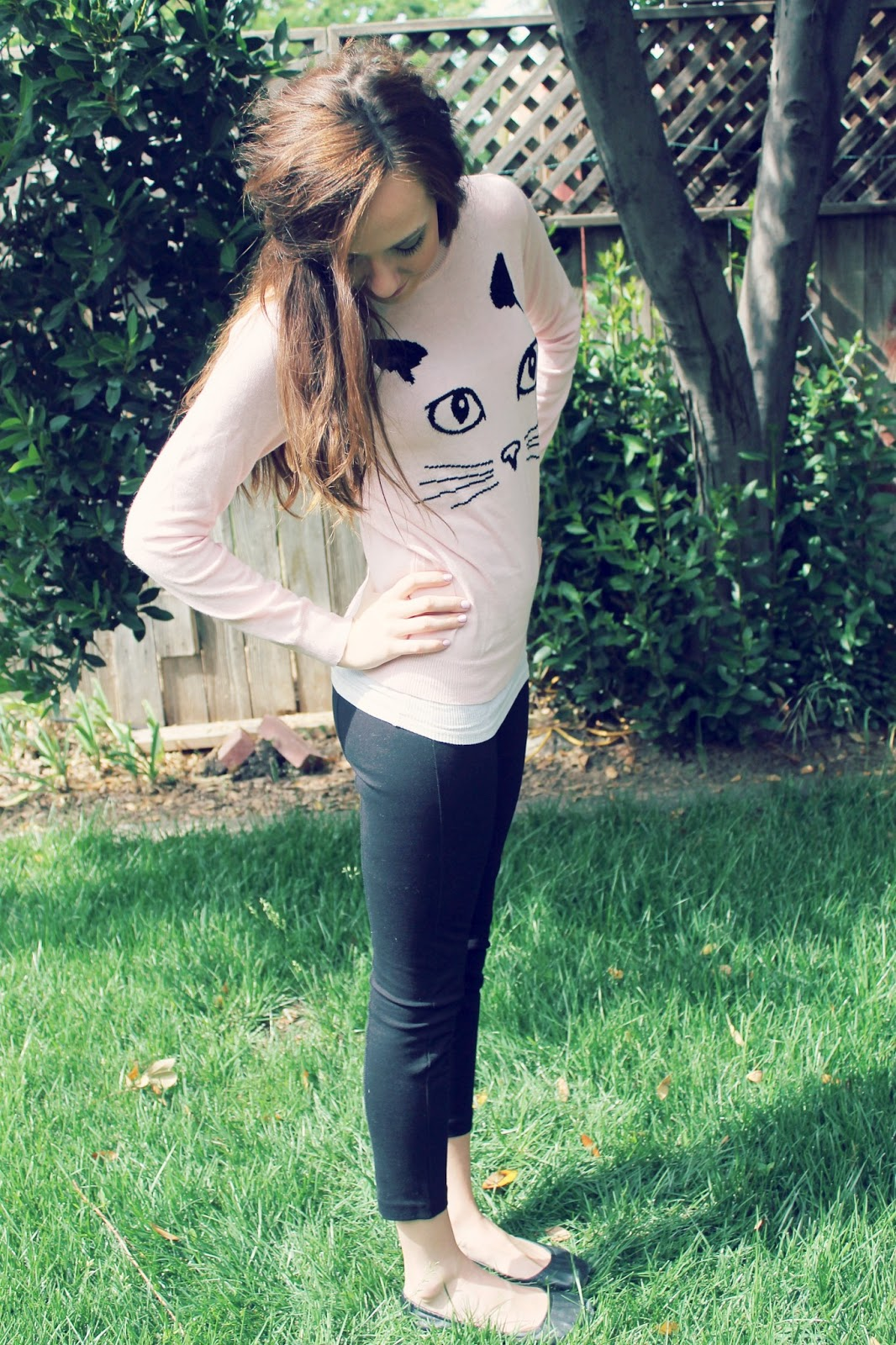 c225c443f2063e Cat Sweater and Pixie Pants - Katie Did What